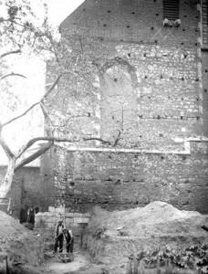 Kościół Katarzyny, elewacja zachodnia, 1934 - NAC