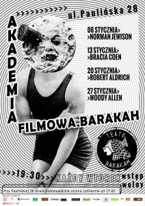 Teatr BARAKAH_Akademia Filmowa Barakah.plakat-styczeń