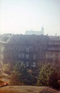 Widok z dachu. Lato 1984