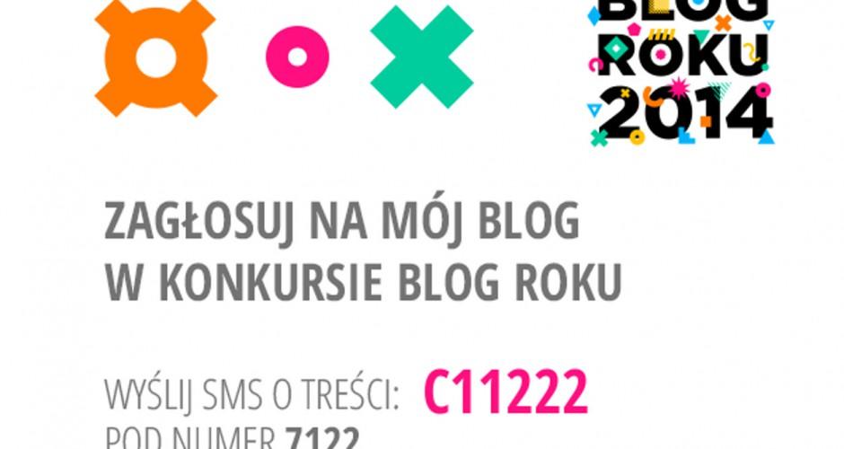 Konkurs na Blog Roku 2014 – zagłosuj na Krakowski-Kazimierz.pl