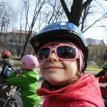 Rowerowe powitanie wiosny Szkoły Podstawowej nr 1 im. KEN