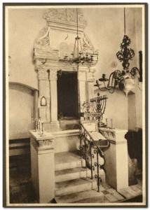 Synagoga Remu, ul. Szeroka 40. Fot. ze zbiorów Żyd. Akademickiego Koła Miłośników Krajoznawstwa Słuchaczy U. J.  w Krakowie, ok. 1935 r.