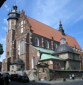 Krakowski-Kazimierz.pl Zdjęcie: Church_of_Corpus_Christi_in_Kraków_3 autorstwa Bartek444, Wikipedia